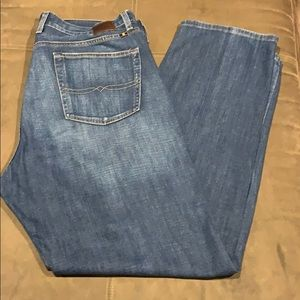 Men's Lucky Brand Jeans Classic Straight 38x32